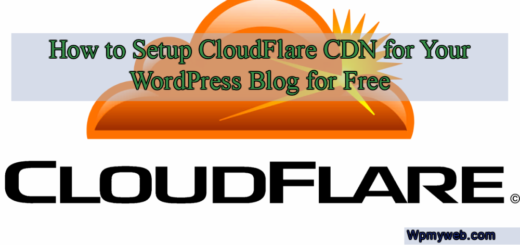 How to Setup CloudFlare CDN for Your WordPress Blog for Free