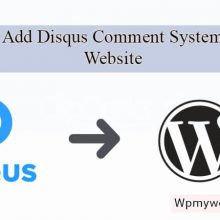 How to add disqus comment system to your website