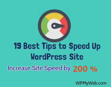 WordPress Increase Site Speed