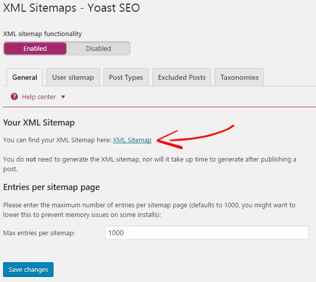 How to Create XML Sitemap Using Sitemap Generator Tool - WPMyWeb