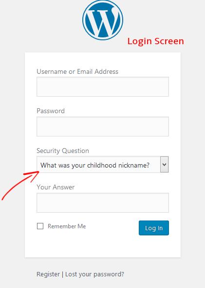 WP Security Login